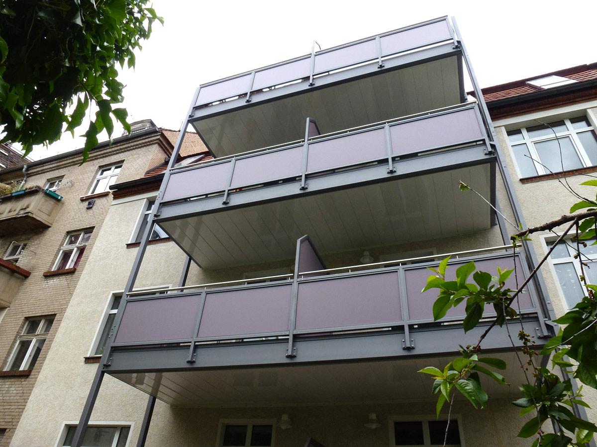 balkone und balkonanlagen planen bauen wir f r sie bau. Black Bedroom Furniture Sets. Home Design Ideas